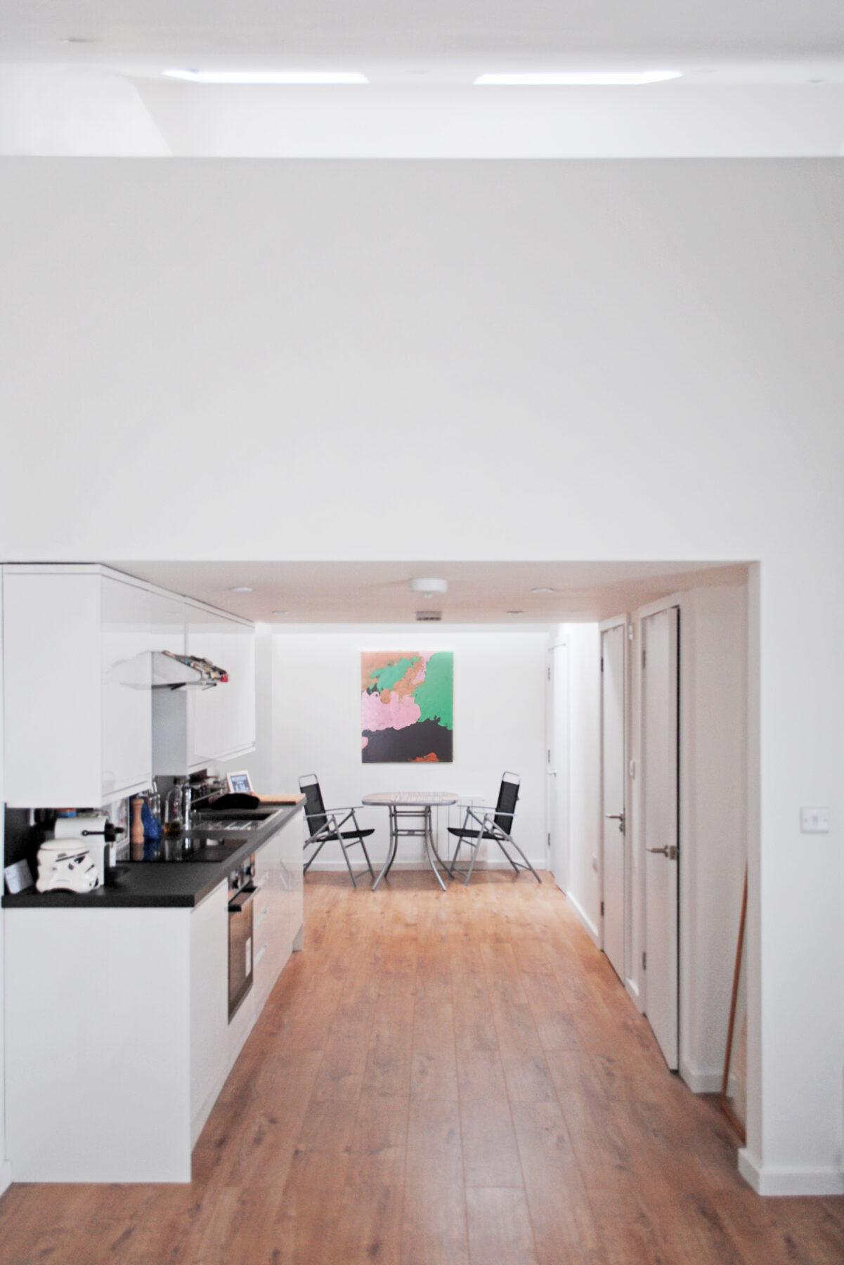 Barking Road 04 Internal Conversion Gallery Kitchen Mezzanine