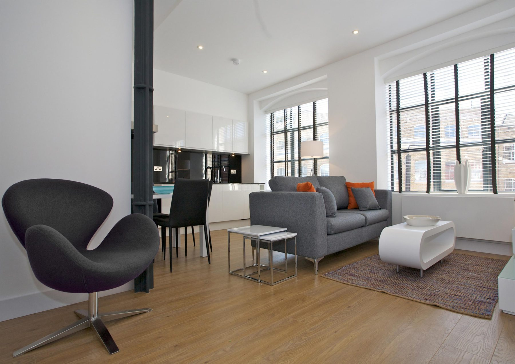 148 Commercial Street 04 Living Room Conversion