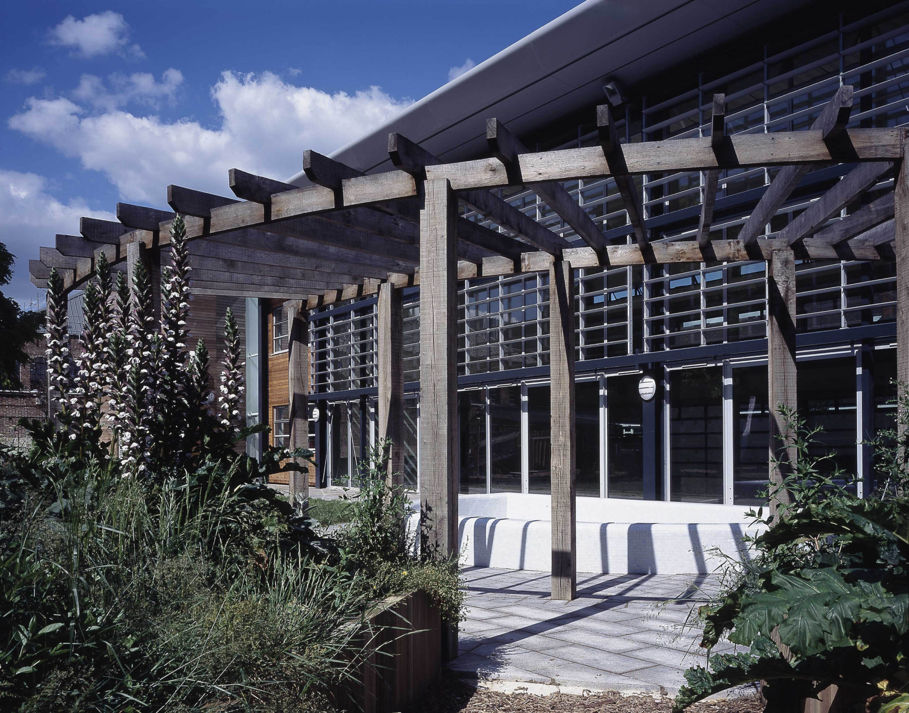 Attlee Community Centre 03 External Pergola Landscaping