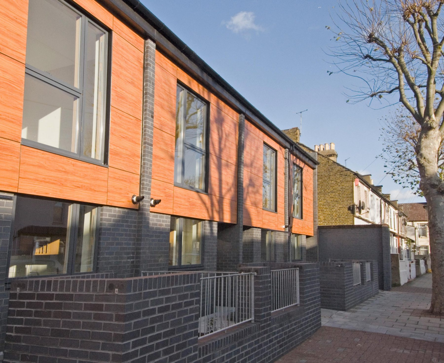 Romford Road 02 External Affordable Housing Houses