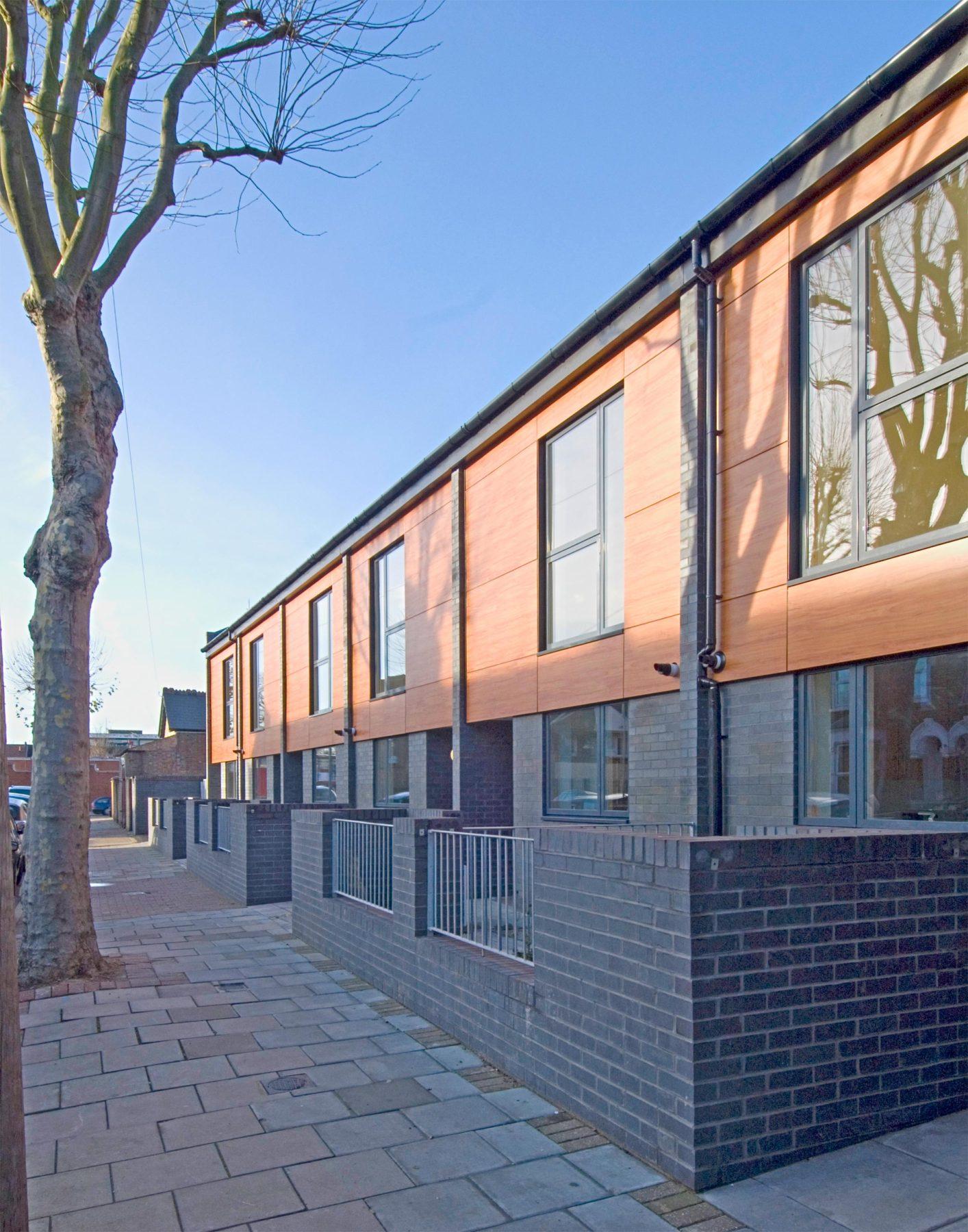 Romford Road 04 External Affordable Housing Houses