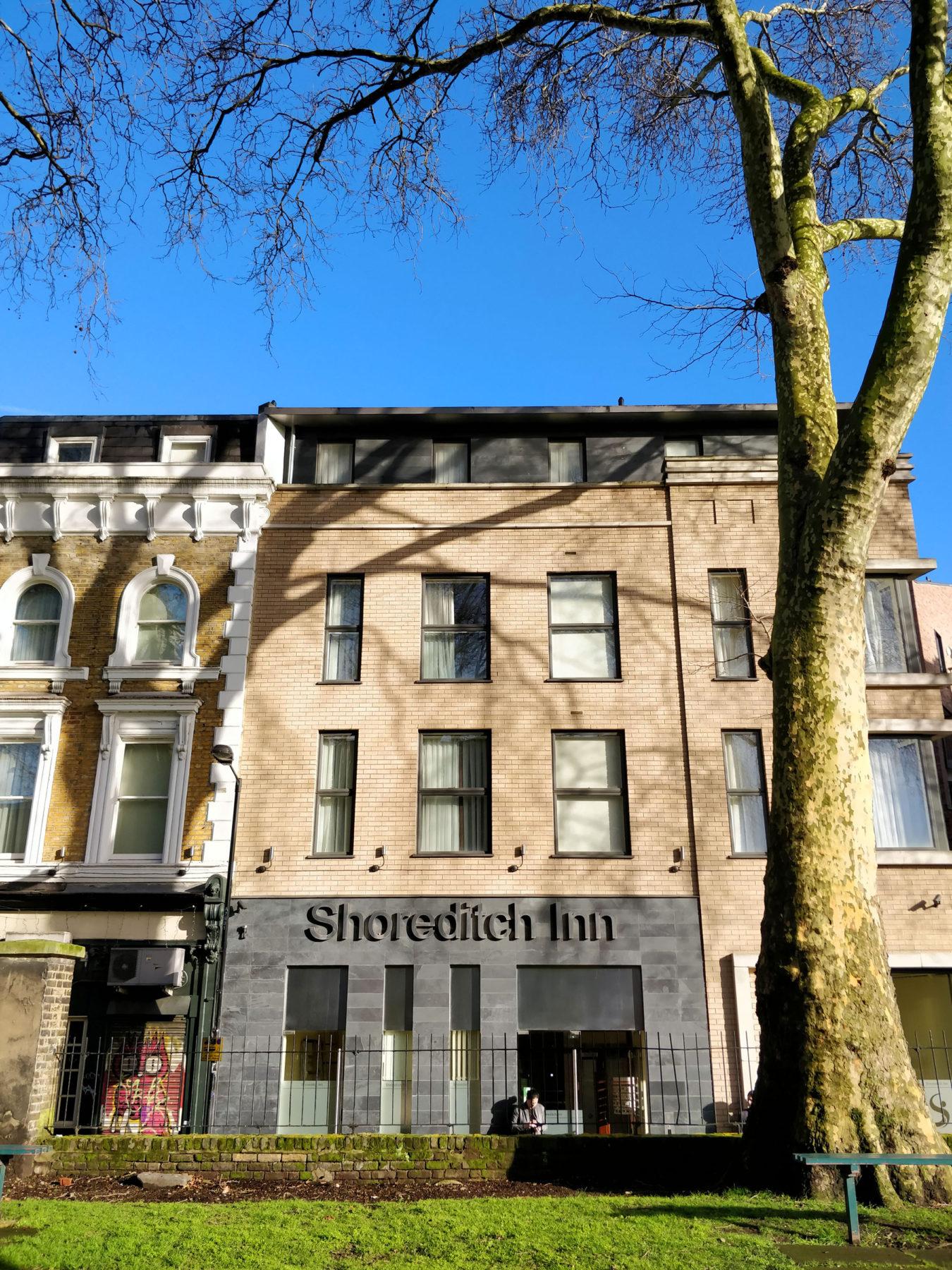 Shoreditch Inn 03 Extension Hotel Entrance