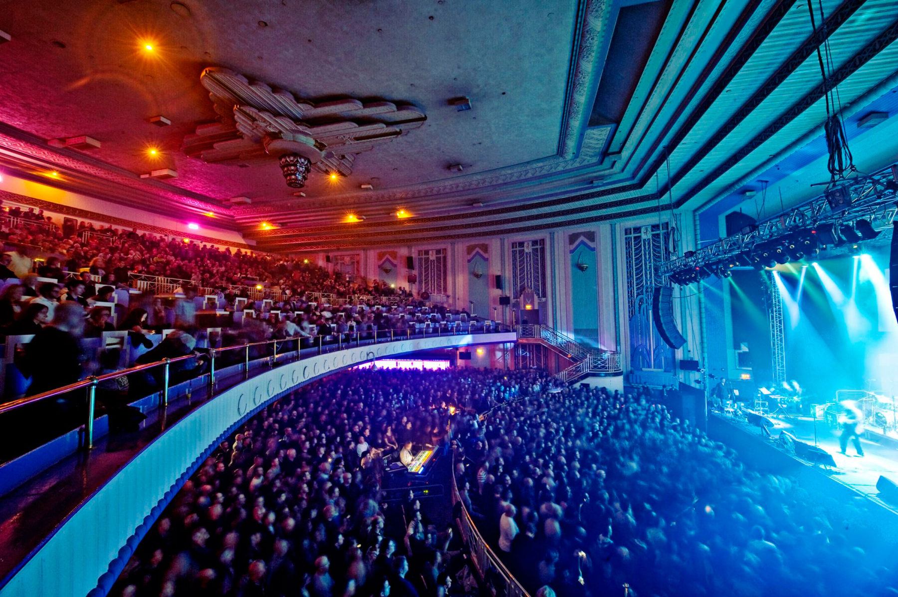 Troxy Banqueting Hall 02 Concert Conservation Art Deco