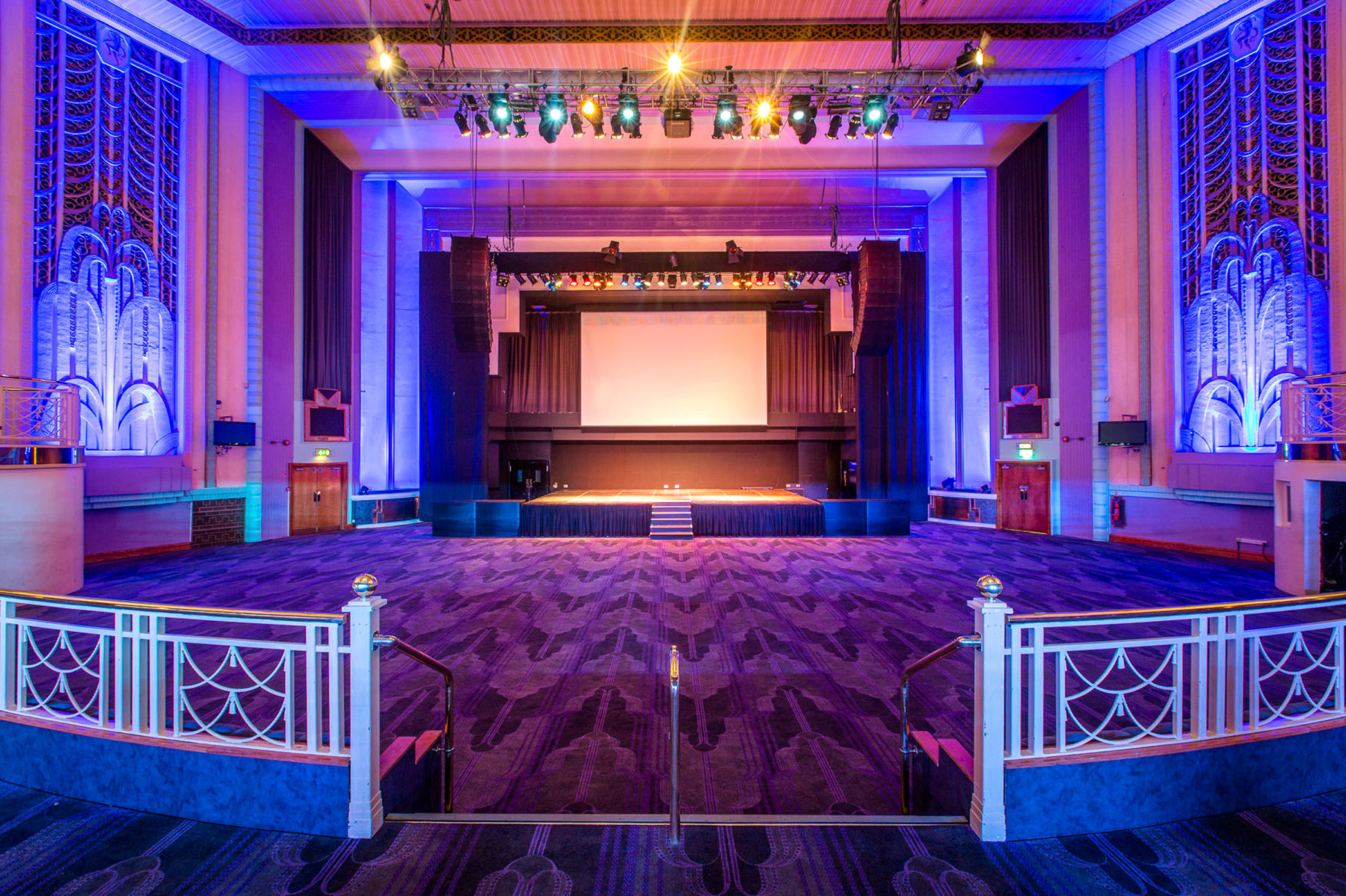 Troxy Banqueting Hall 03 Concert Conservation Art Deco