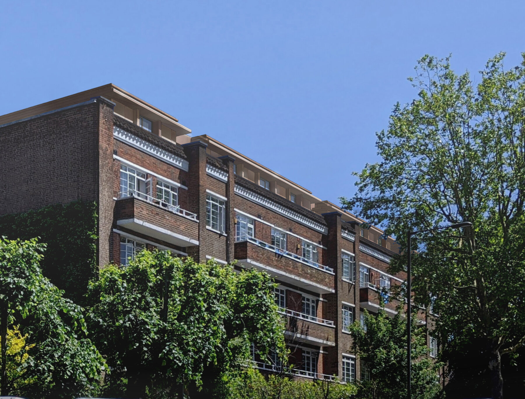 Highcroft 02 Extension Highgate Apartments Housing Conservation