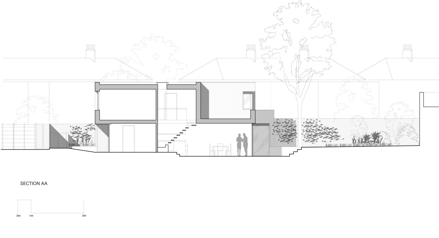 Chapel House Section AA