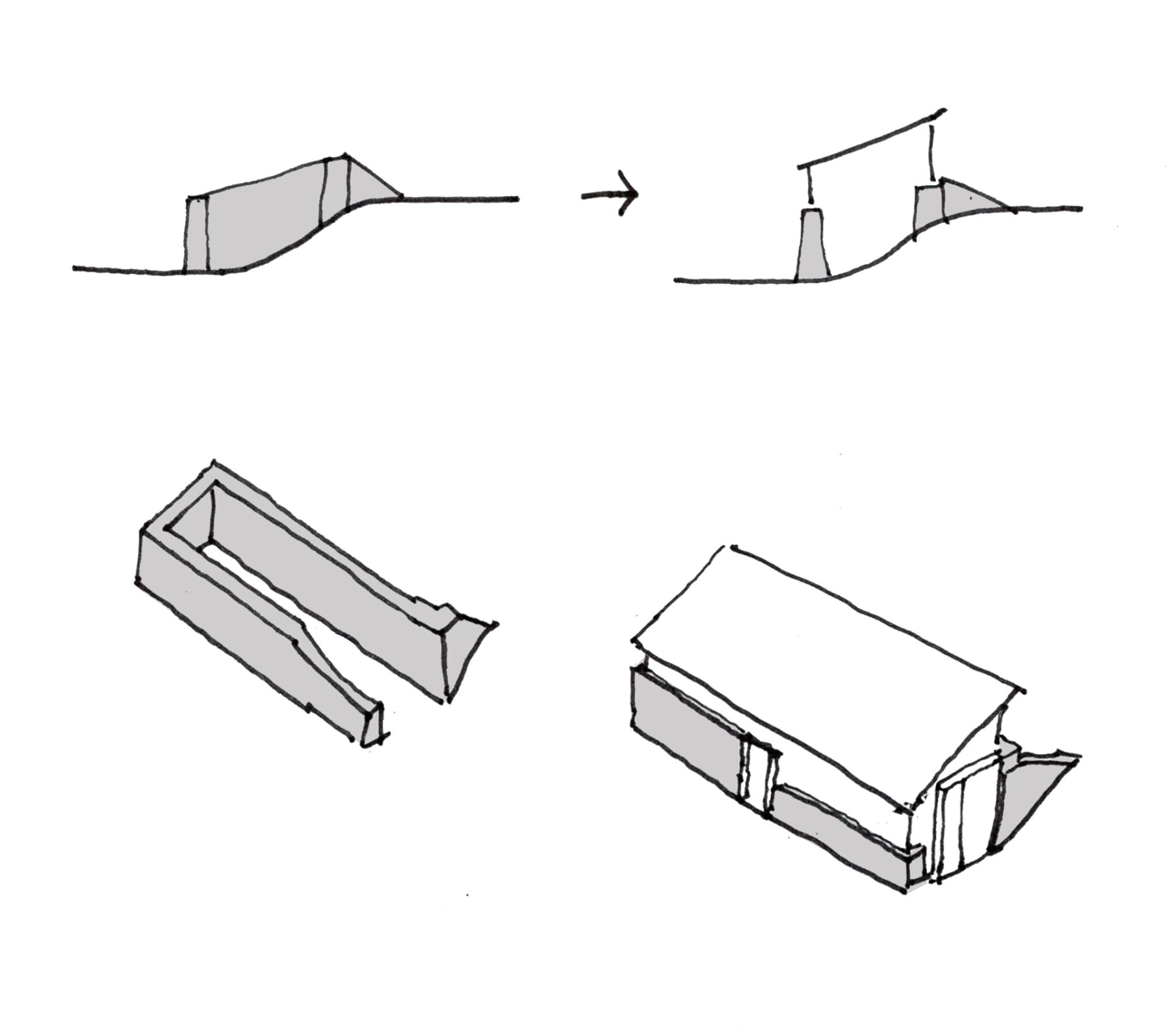 pwll clai barn restoration conservation adaptation